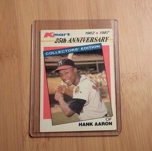 Vintage Hank Aaron Collector's Card